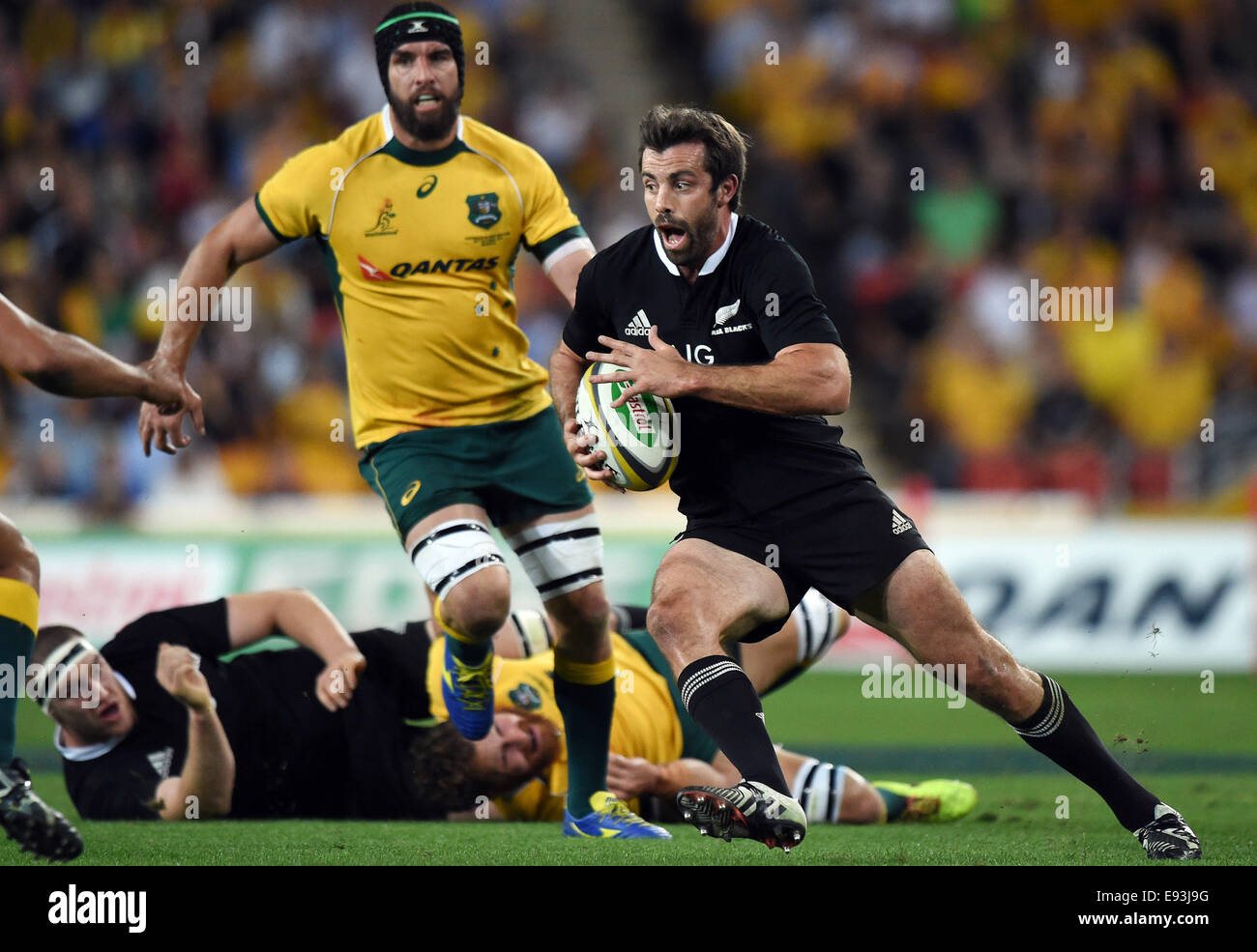 Suncorp Stadium Brisbane Australia 18th Oct 2014 Bledisloe Cup Stock Photo Alamy