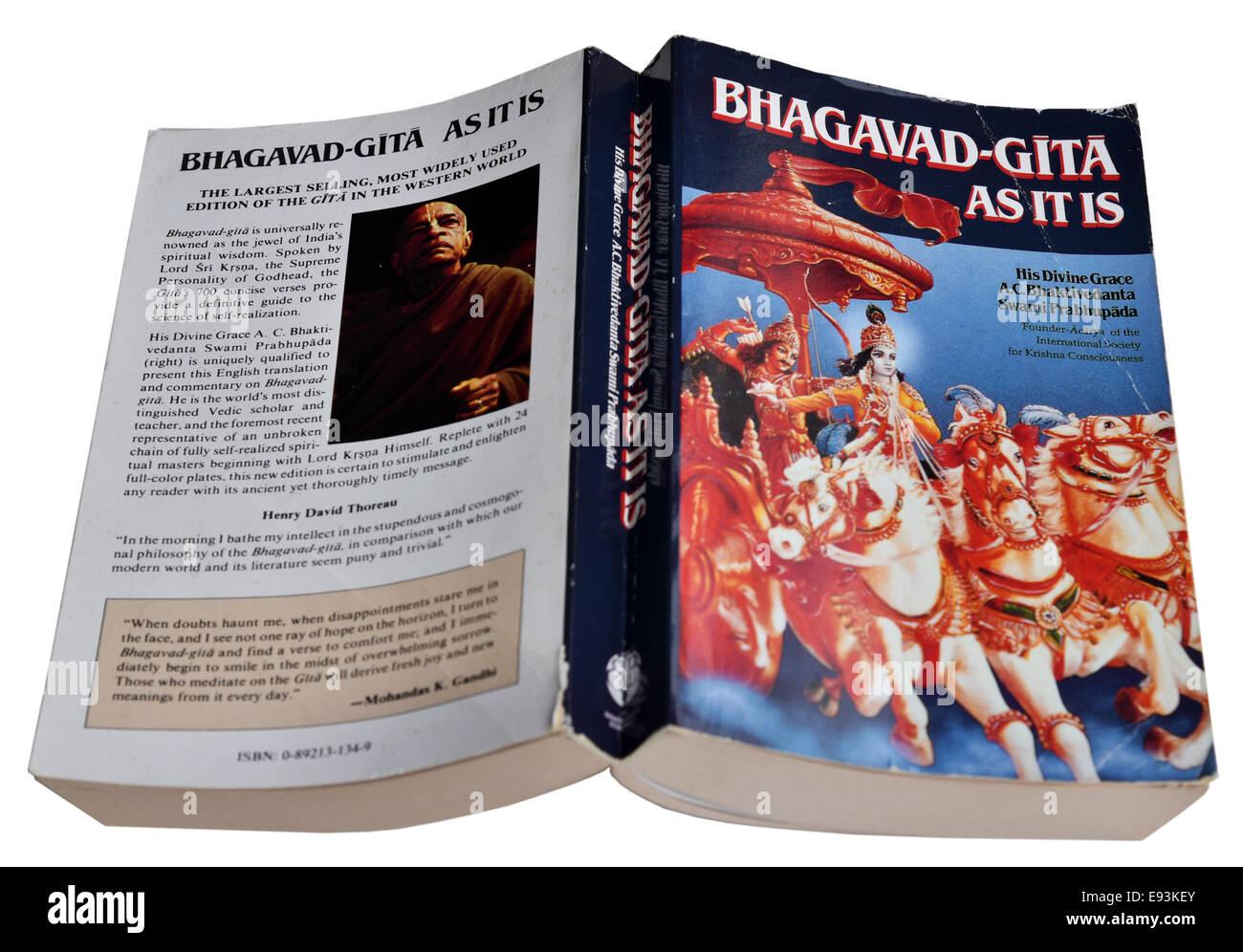 The Bhagavad Gita - Stock Image