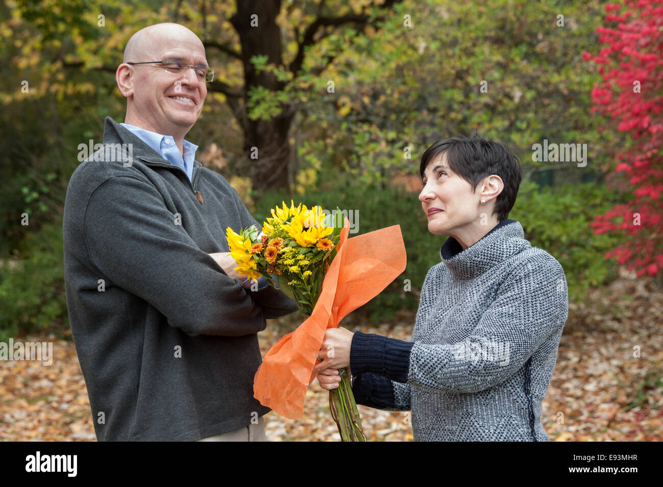 I'm So Sorry, Honey! - Stock Image