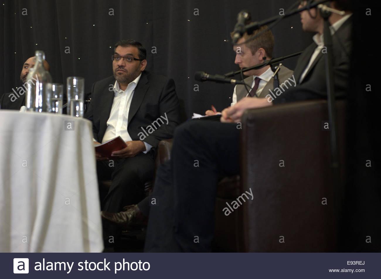 Anas Al Abdeh Aka Abdah Listening To Members Of The