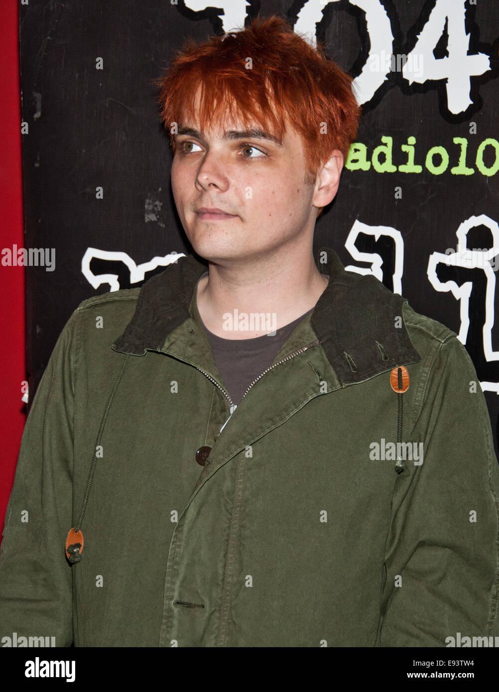 Gerard Way Stock Photos Gerard Way Stock Images Alamy