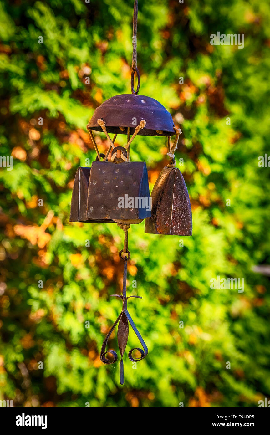 Wind chime - Stock Image