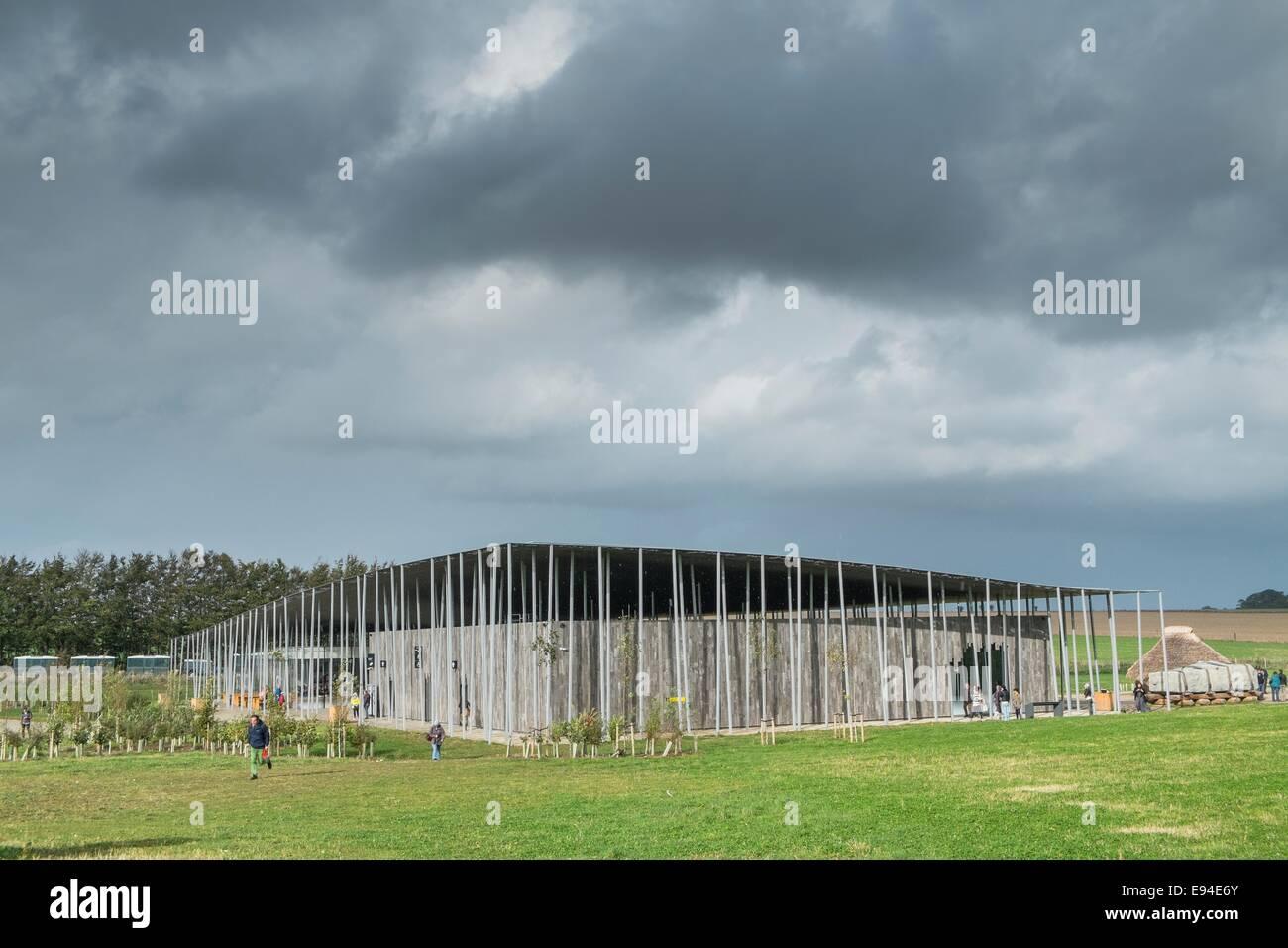 Stonehenge visitors center. Stock Photo