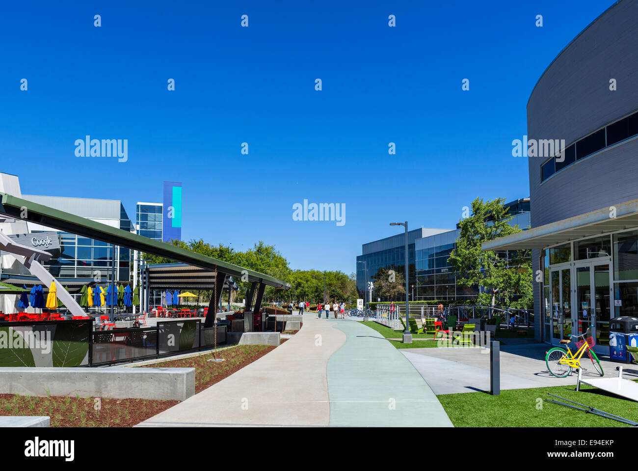 google head office campus google head office campus mountain view californias usa stock