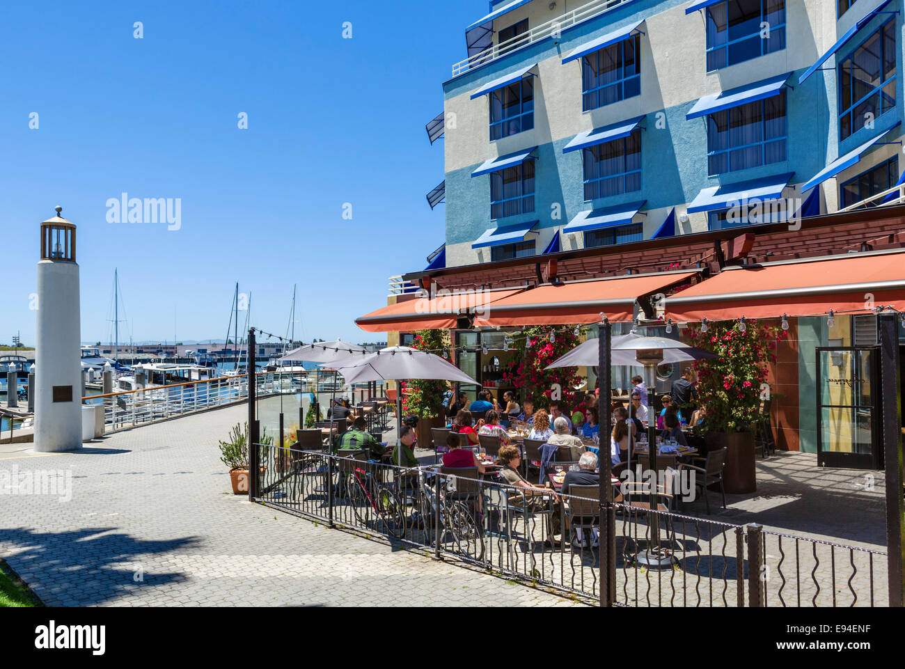 Restaurant On The Waterfront In Jack London Square District