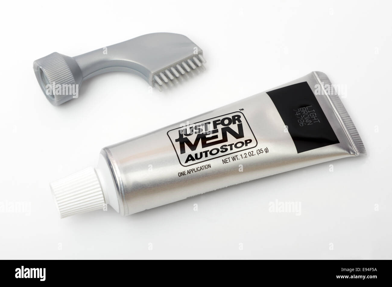 Just For Men AutoStop hair colour - Stock Image
