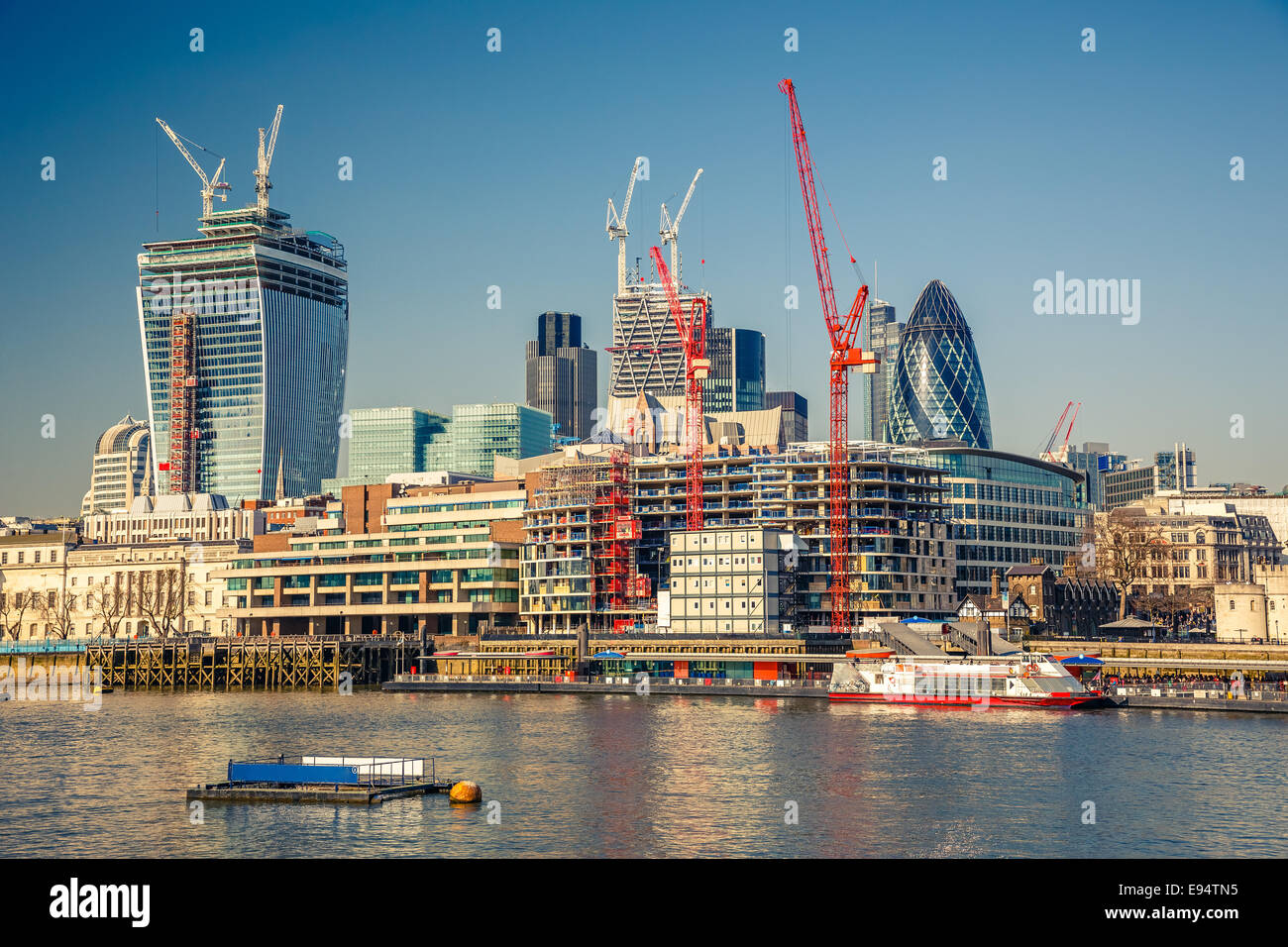 London City - Stock Image