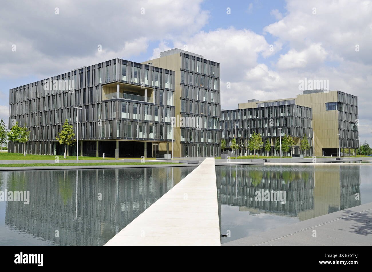 ThyssenKrupp, headquarters, Essen, Germany - Stock Image