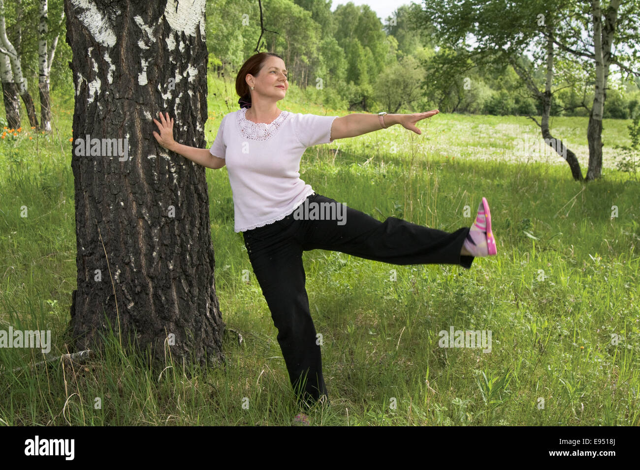 Gymnastics - Stock Image
