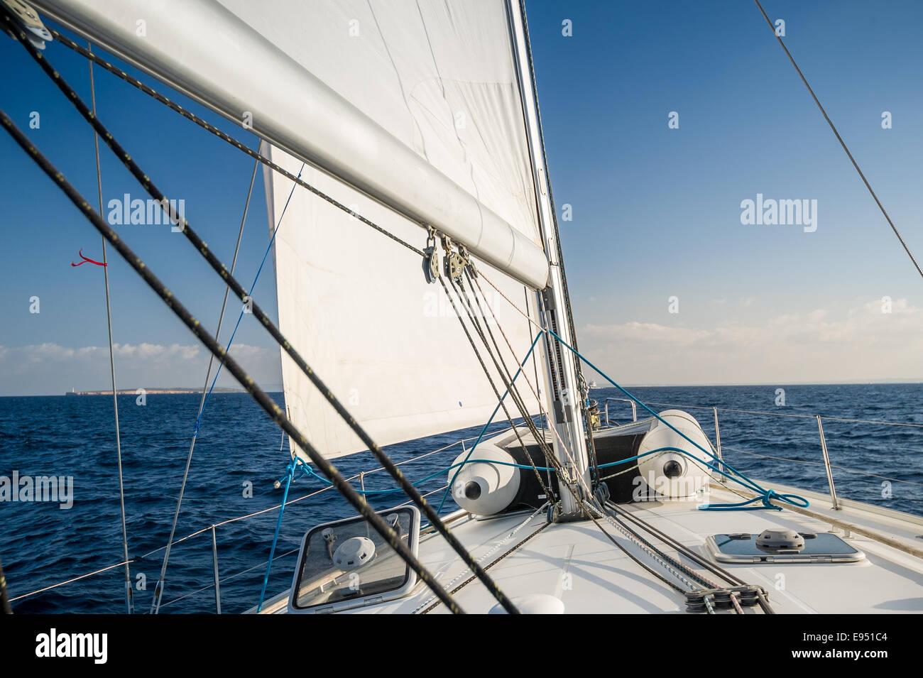 Sailing - Stock Image