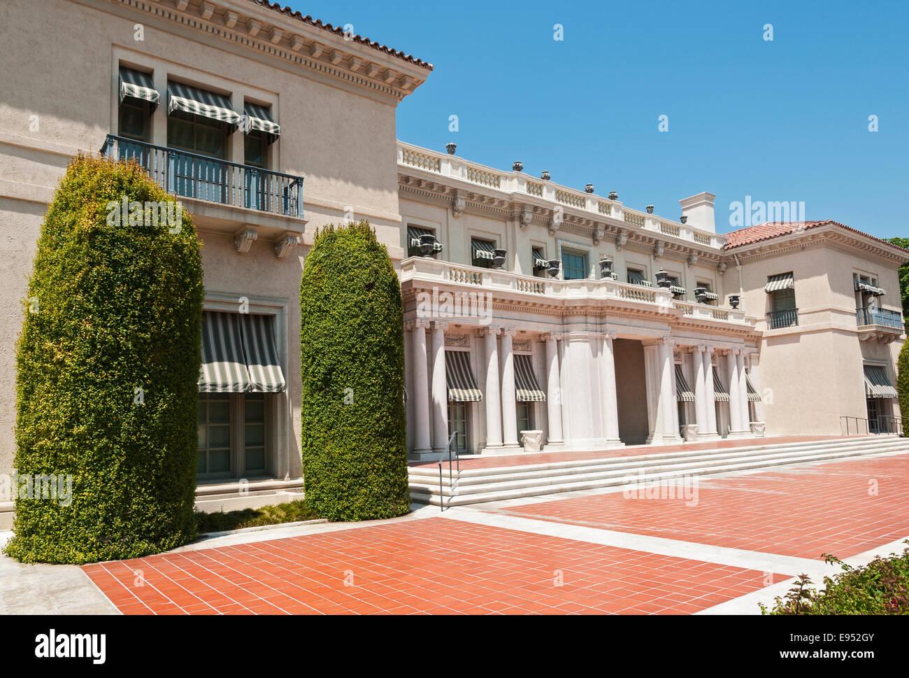 California, San Marino, The Huntington Art Gallery, exterior - Stock Image