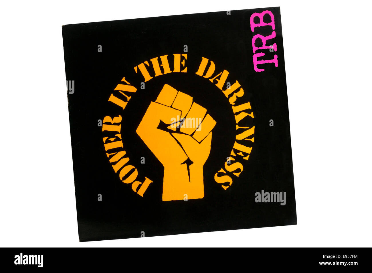 Power in the Darkness was the 1978 debut studio album by English punk band Tom Robinson Band. - Stock Image