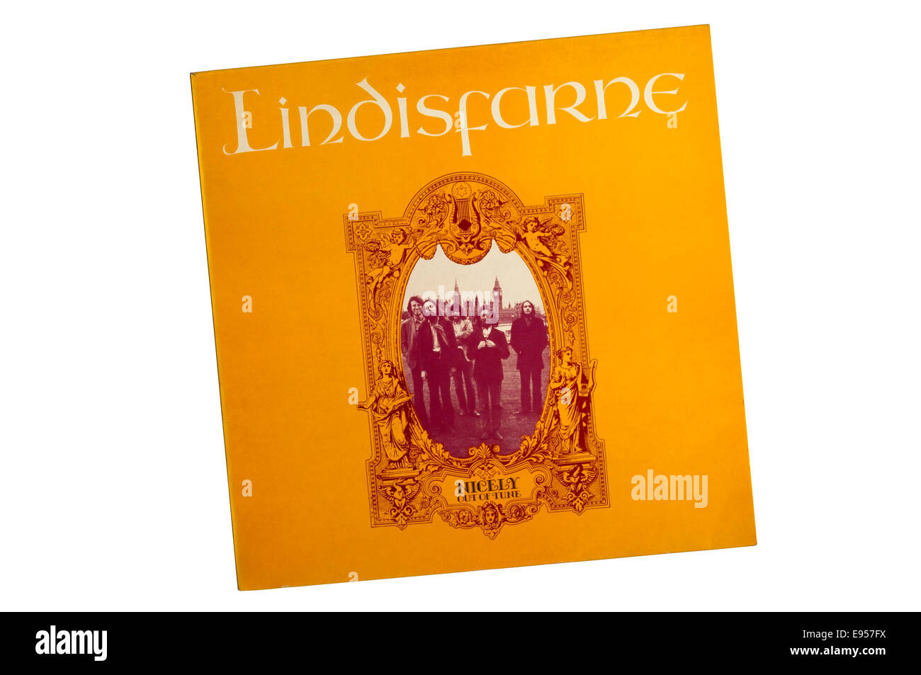 Nicely Out of Tune was the debut album by Lindisfarne released in 1970. - Stock Image