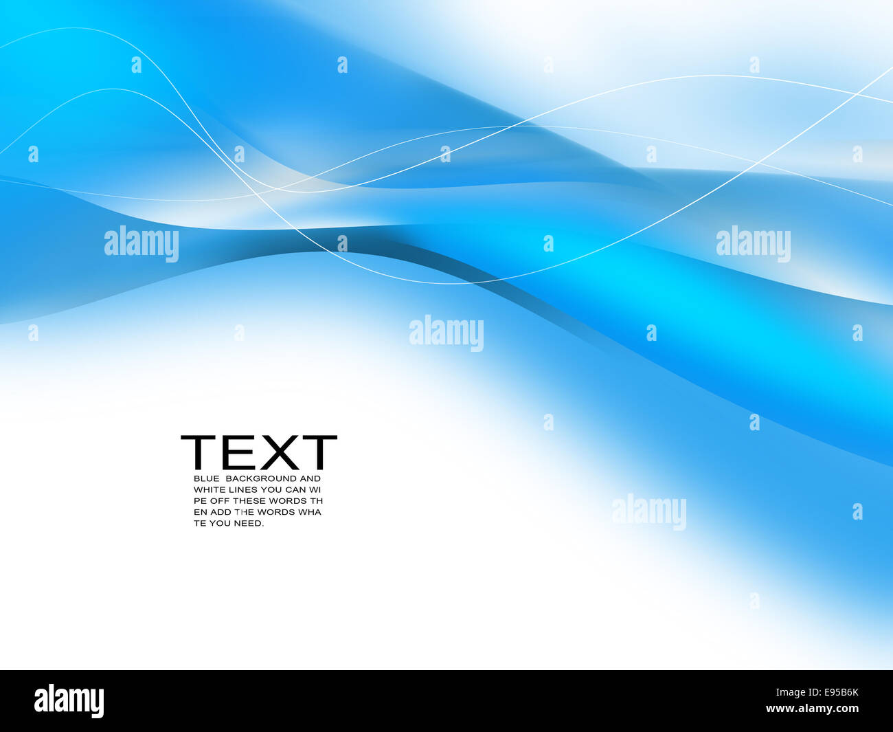 blue abstract background,digitally generated image. - Stock Image