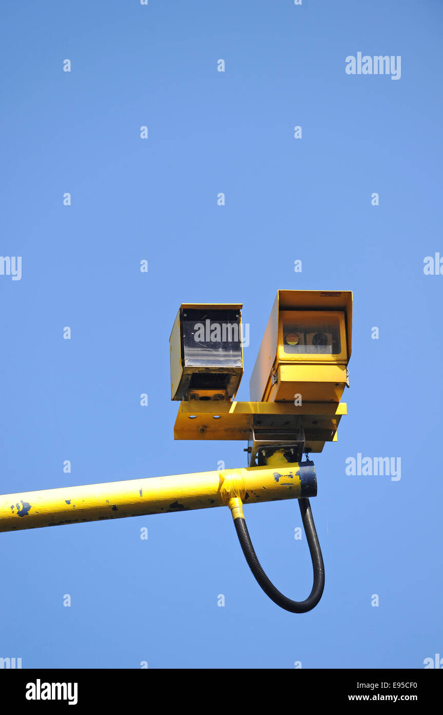 SPECS average speed camera on the A23 - Stock Image