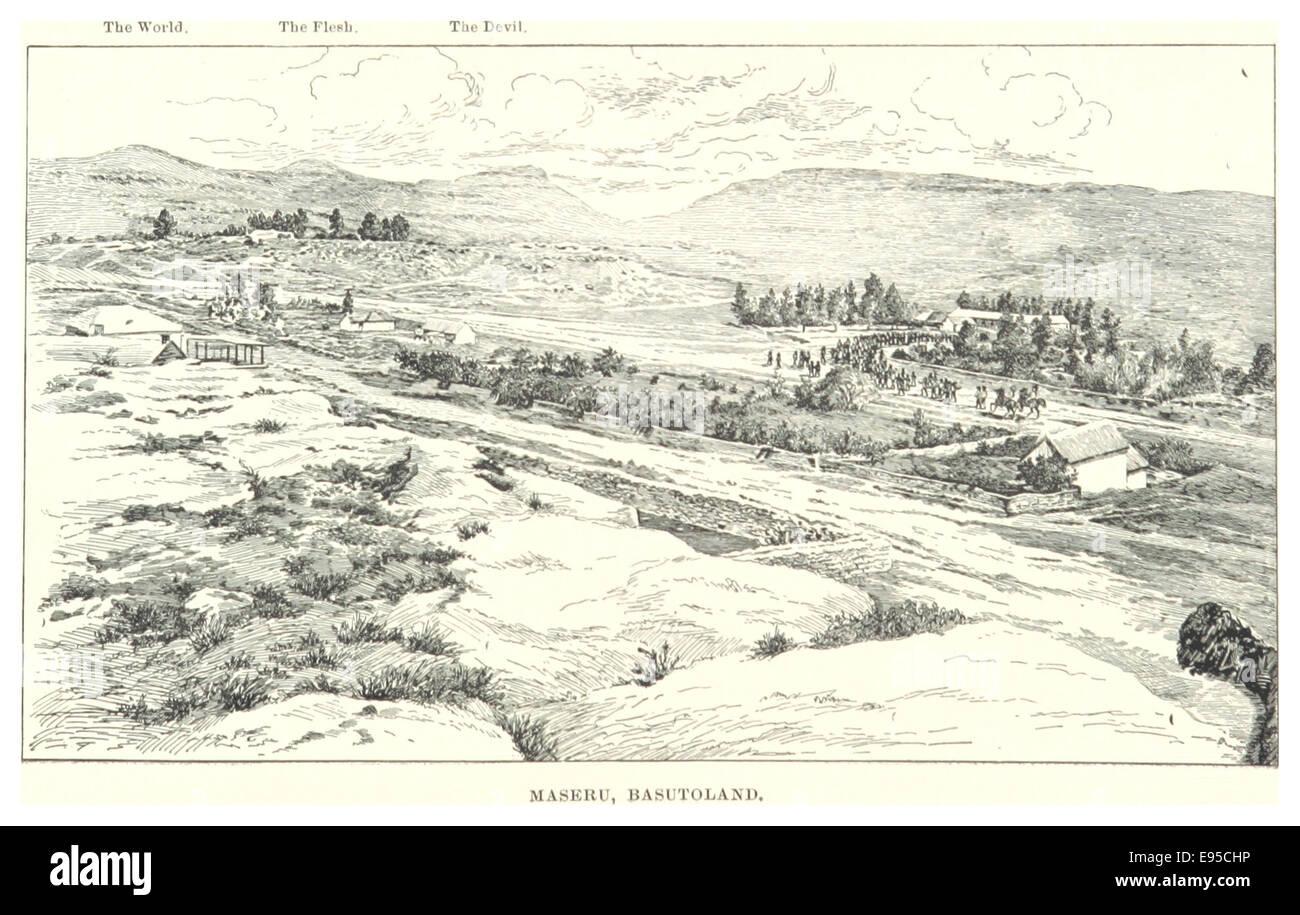 IY188 pg389 MASERU, BASUTOLAND - Stock Image