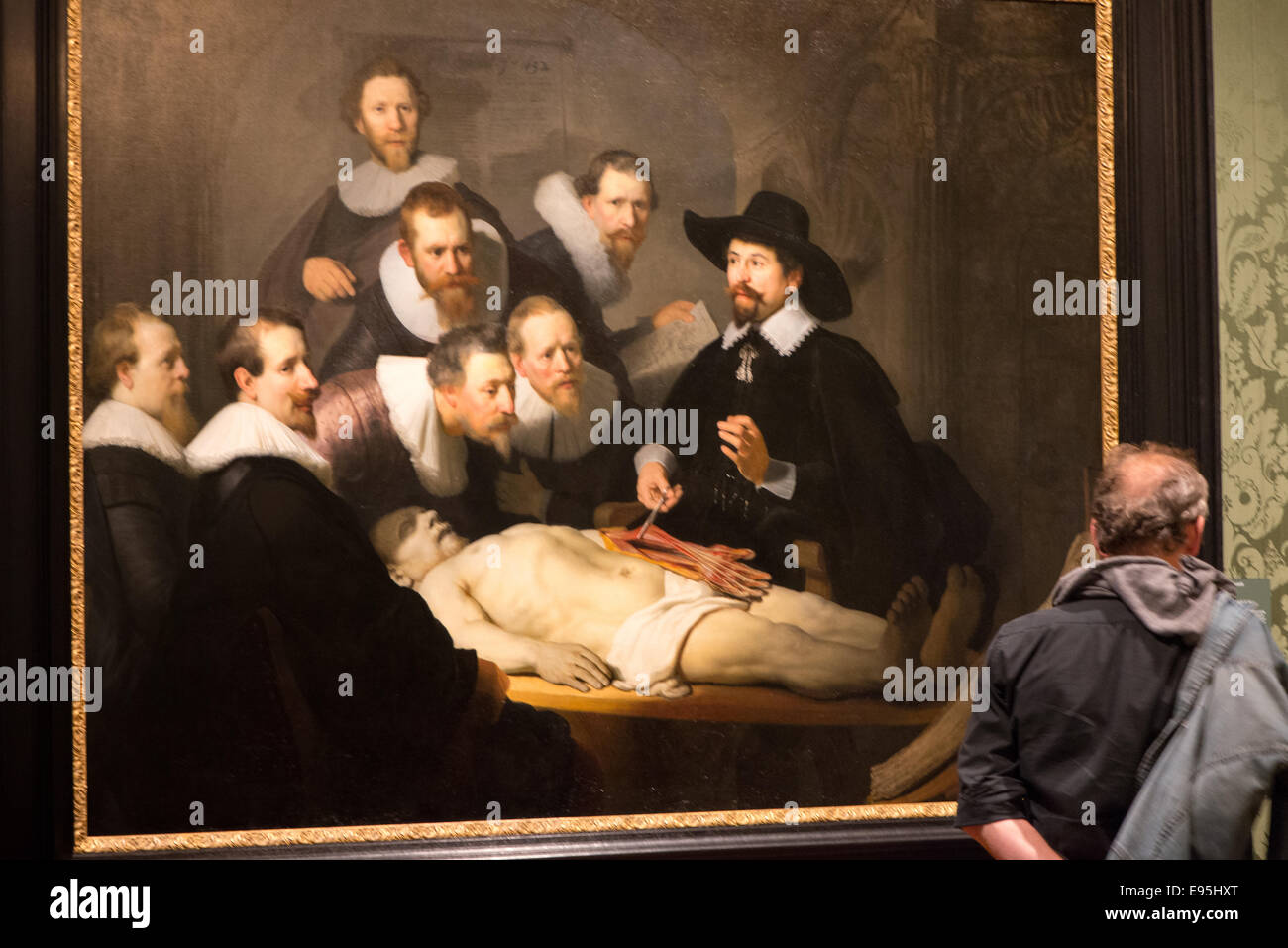 Anatomy Lesson Of Dr Tulp Stock Photos Anatomy Lesson Of Dr Tulp