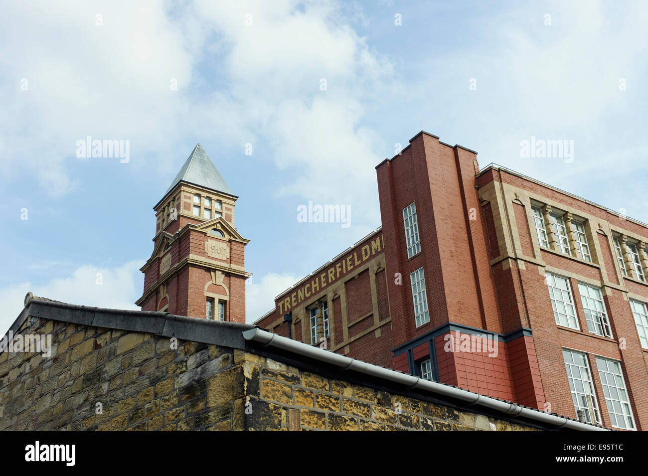 Trencherfield Mill in Wigan - Stock Image