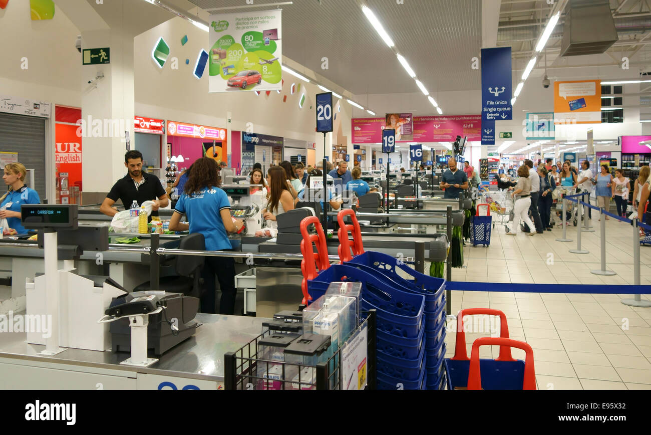 Shopping Spain Chain Stock Photos Shopping Spain Chain