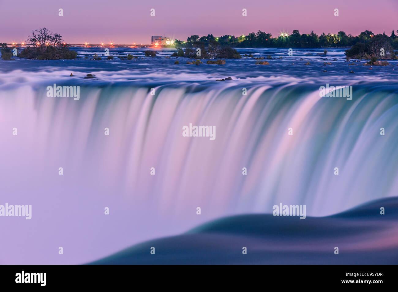 Horseshoe Falls, part of the Niagara Falls, Ontario, Canada. - Stock Image