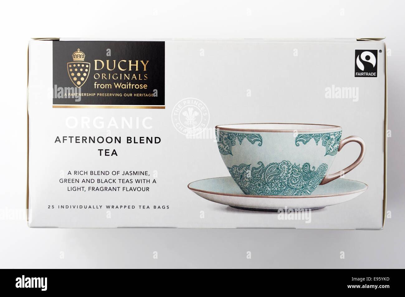 Waitrose Duchy Originals Afternoon tea Stock Photo