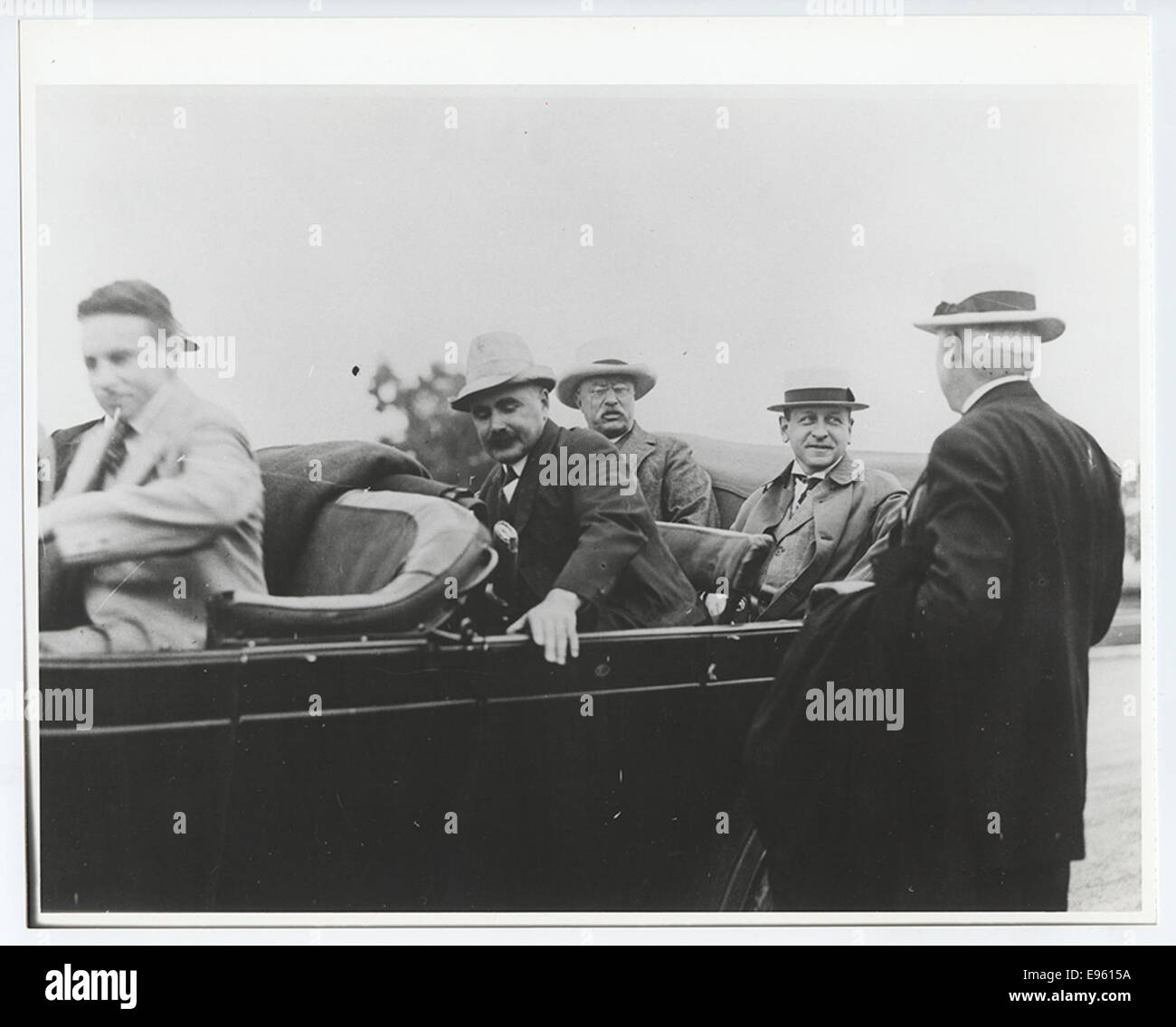 Roosevelt Party Leaving Los Angeles County Museum - Stock Image