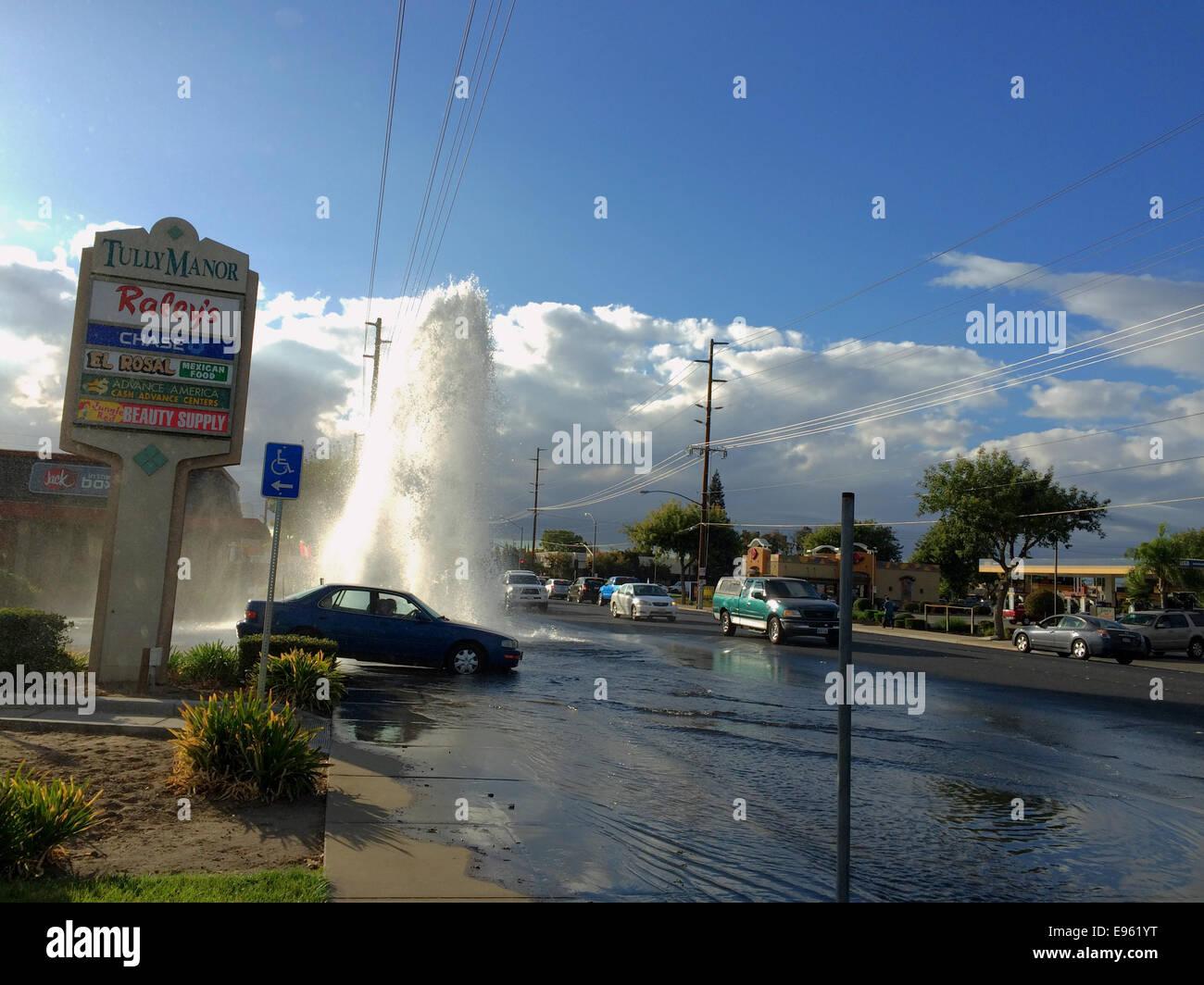 Modesto, Stanislaus county, California, USA  October 20, 2014  A