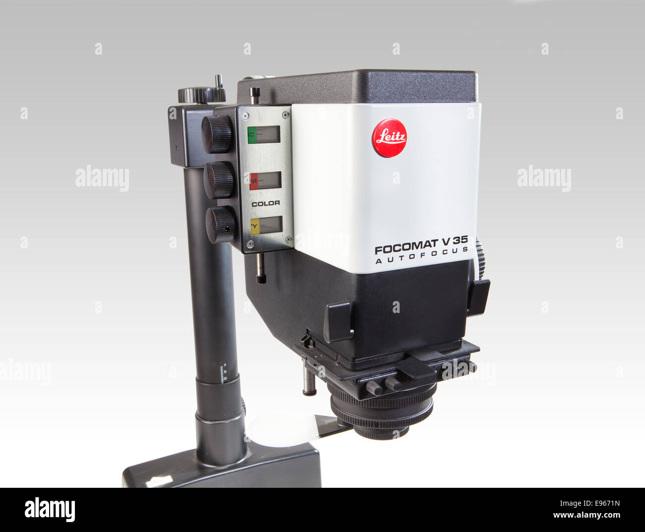 photographic enlarger Leica Focomat V-35 Enlarger, Leitz Focomat V 35 Autofocus - Stock Image