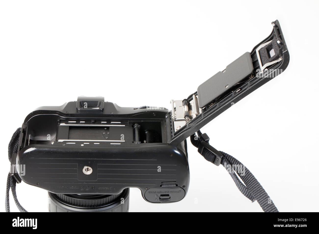 analogue 35mm reflex camera, SLR - Stock Image