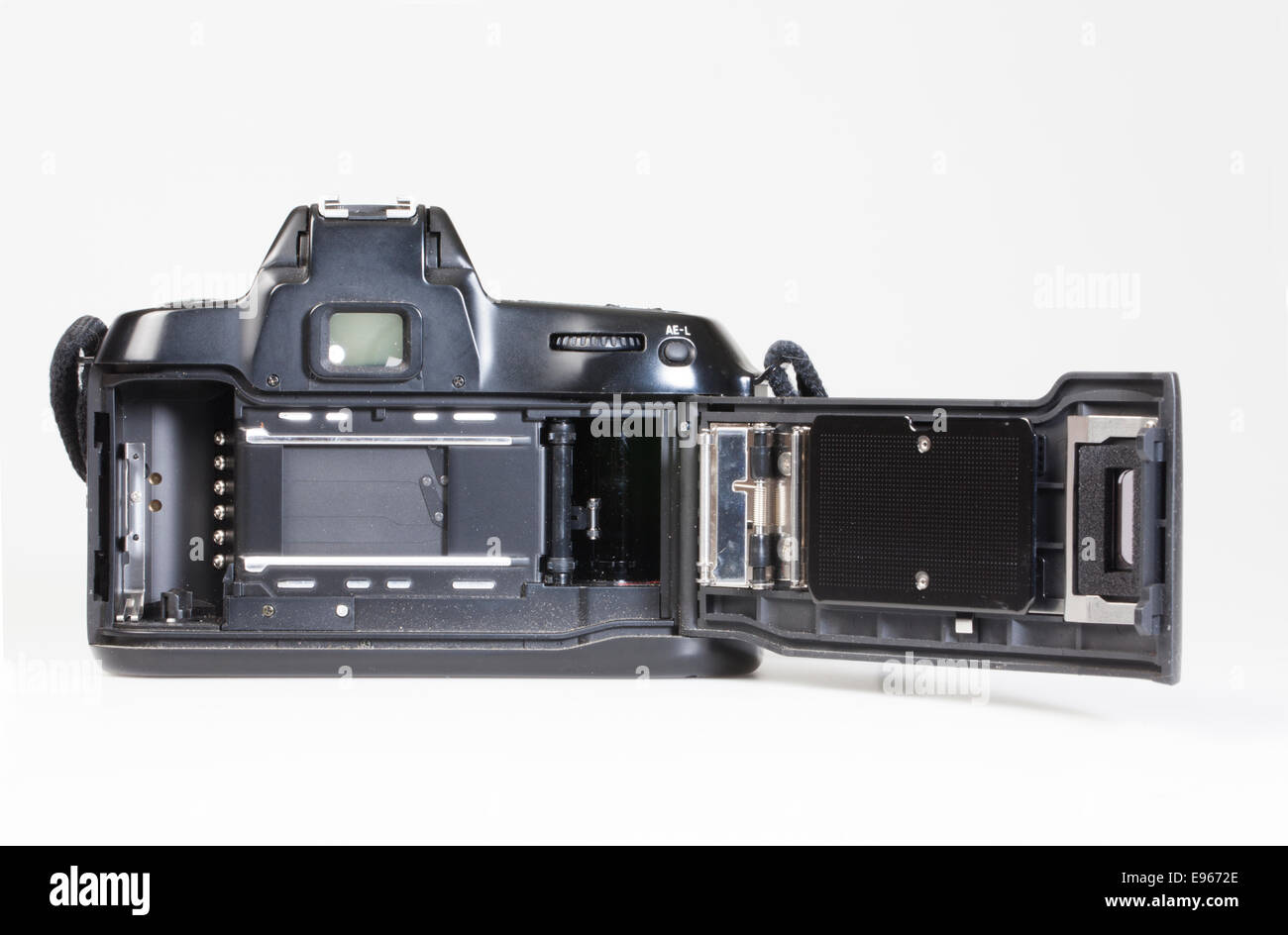 analogue 35mm reflex camera, SLR Stock Photo