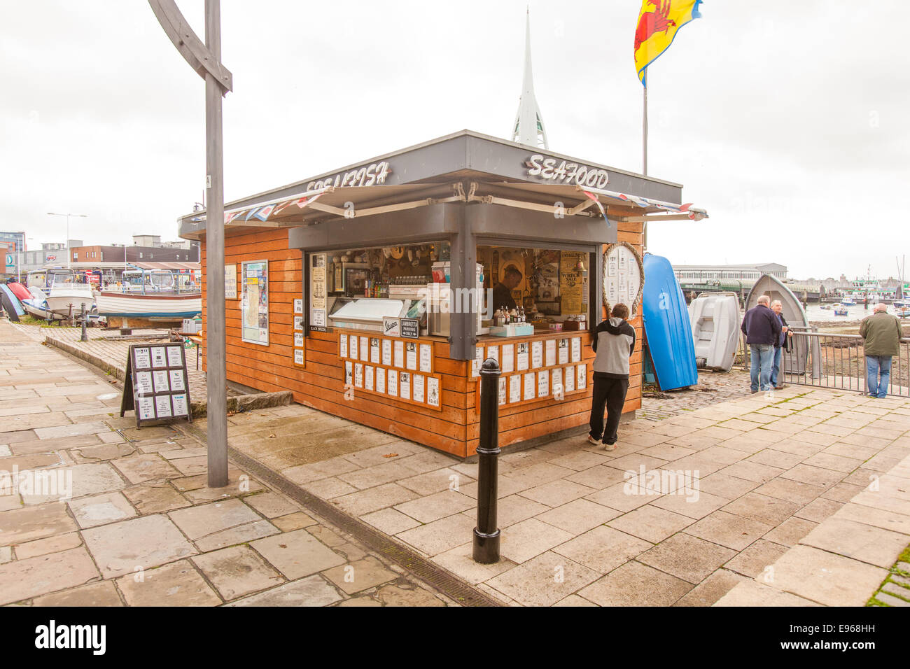 Seafood kiosk Portsmouth Harbour ...