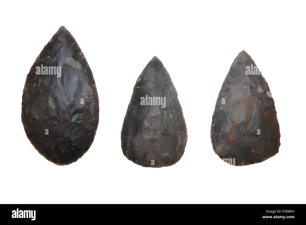 Flint Tools - Stock Image