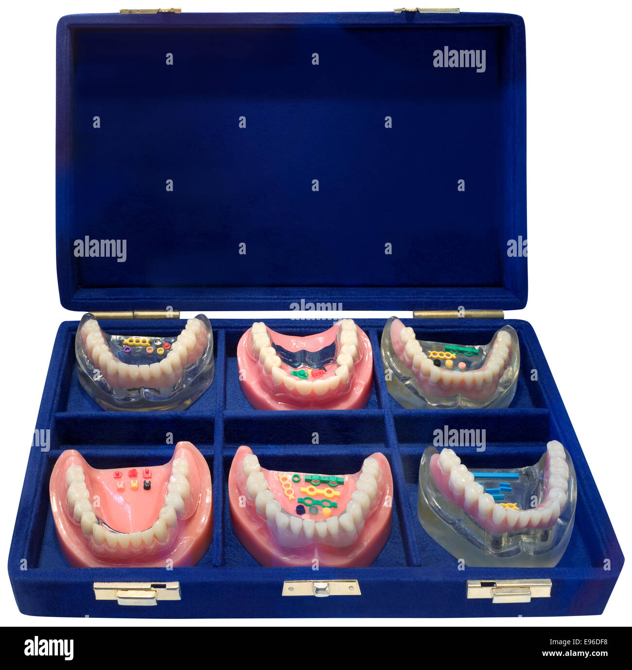 Dentures ToGo cutout - Stock Image