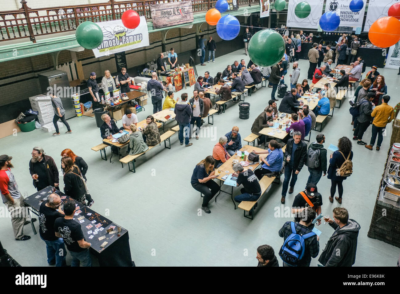 Independent Manchester Beer Convention, 2014 - Stock Image