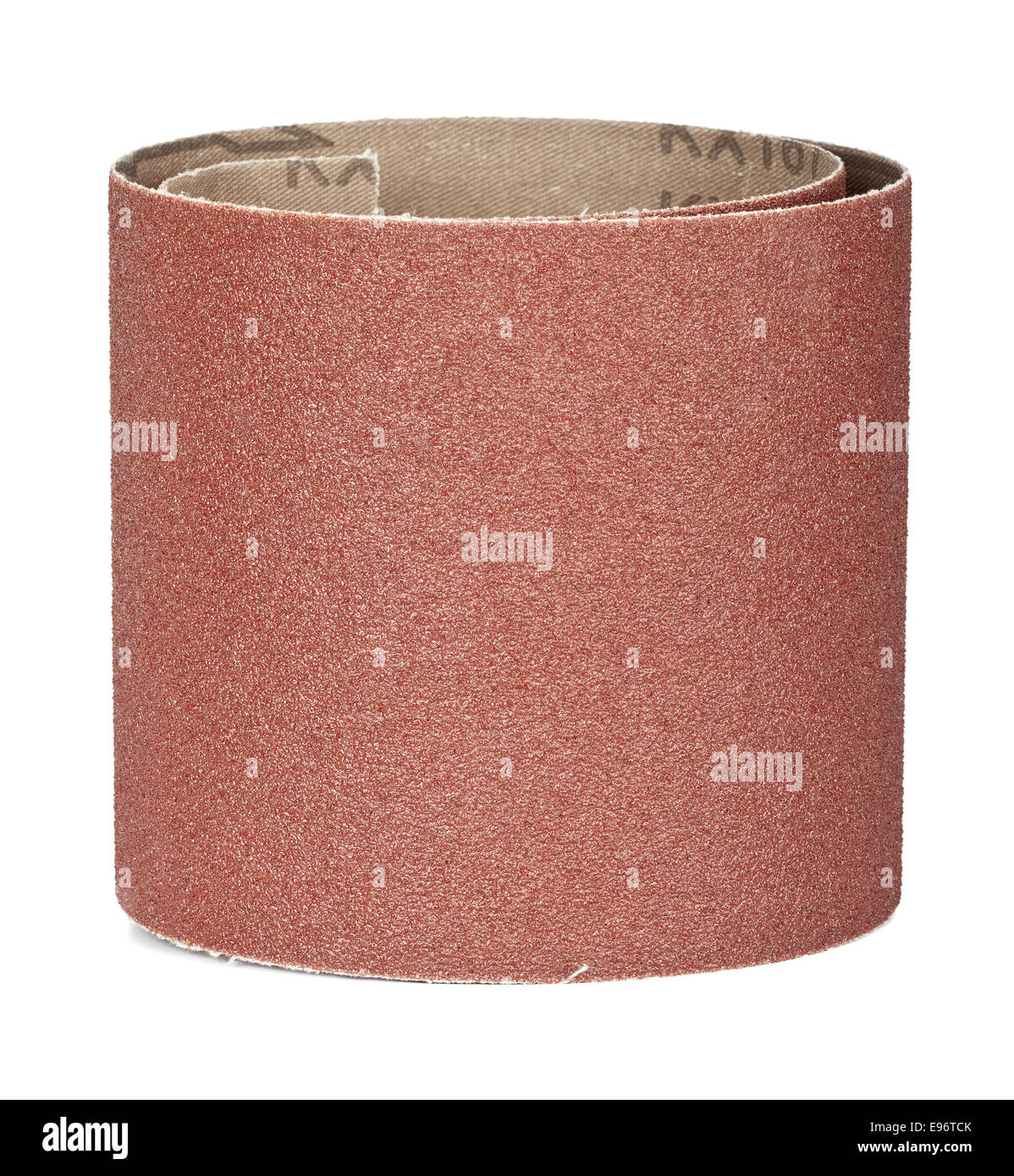 brown sandpaper for your woodwork - Stock Image