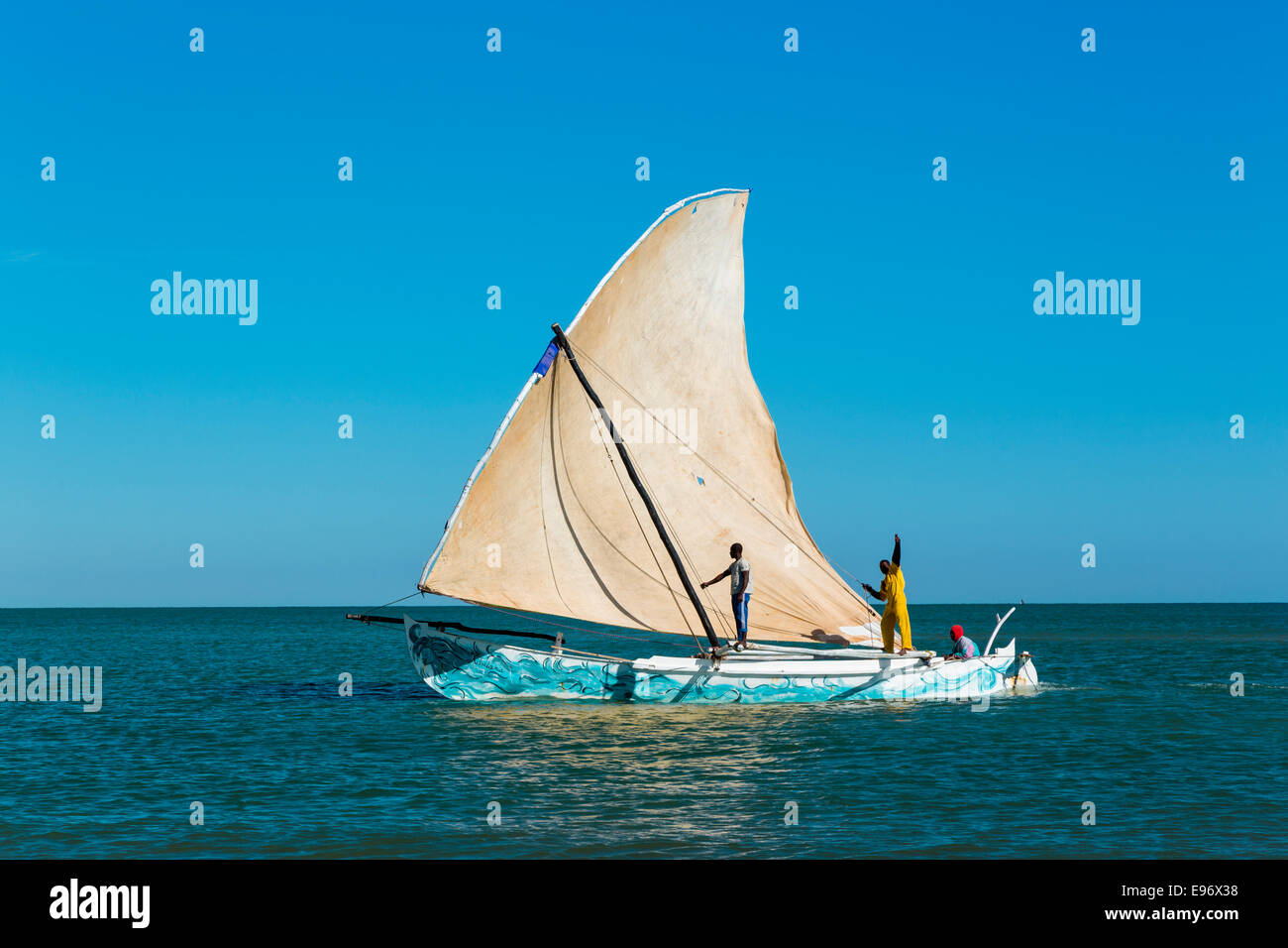 Antsanitia, Madagascar - Stock Image