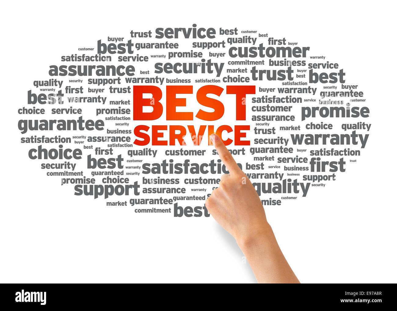 Best Service - Stock Image