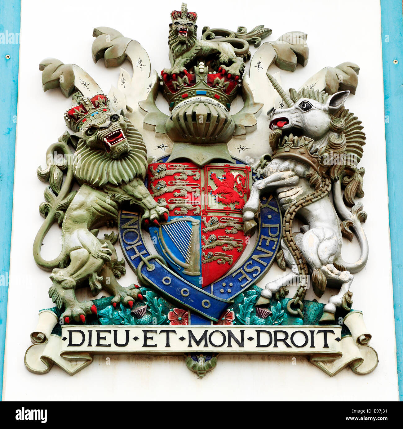 Royal Coat Of Arms British Stock Photos Royal Coat Of Arms