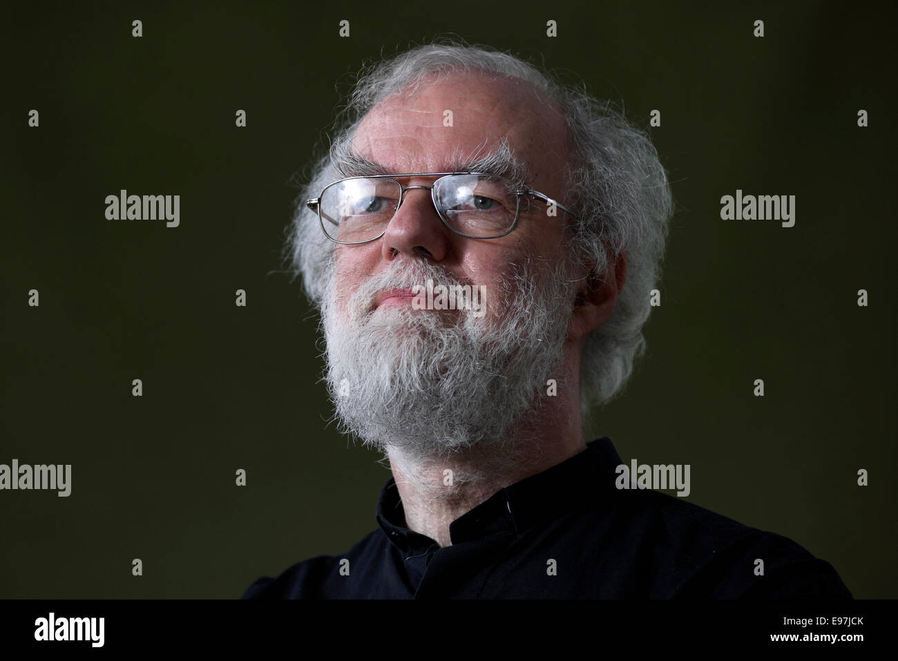 Rowan Douglas Williams, Baron Williams of Oystermouth PC FBA FRSL FLSW, Anglican bishop, poet and theologian. - Stock Image