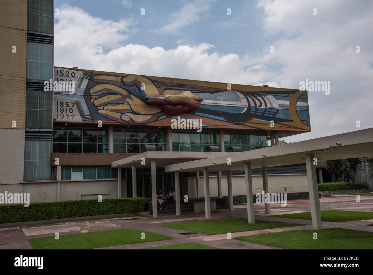 National Autonomous University of Mexico Stock Photo