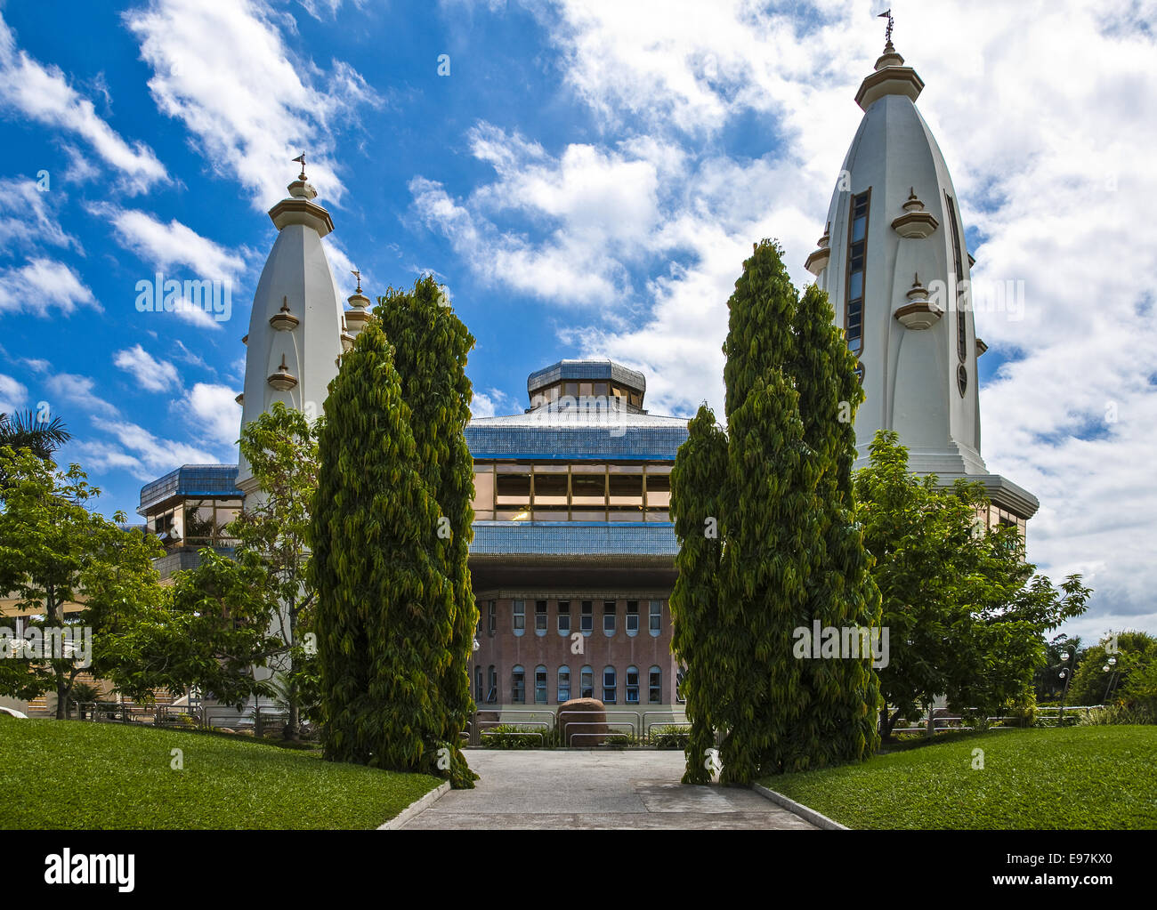 South Africa, Durban, Chats Wort indian quarter, the Krishna temple - Stock Image