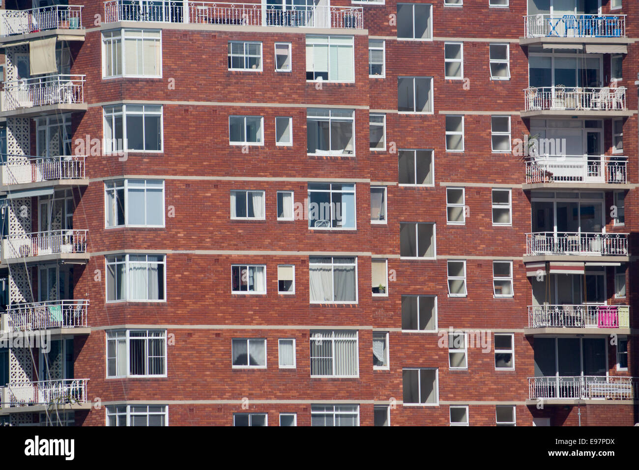 Red brick 20th century apartments Manly Sydney NSW Australia Stock ...