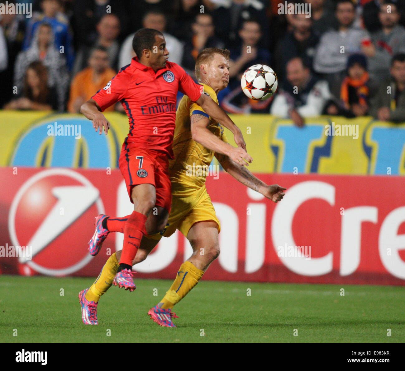 Is Lucas Moura Champions League Tied: Lucas Moura Stock Photos & Lucas Moura Stock Images