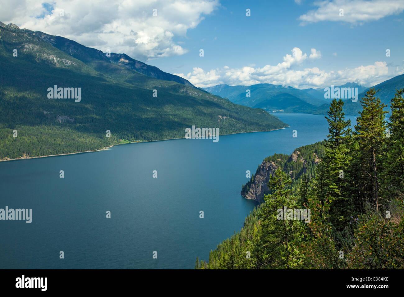 Slocan Lake, Slocan Valley, West Kootenay, British Columbia, Canada - Stock Image