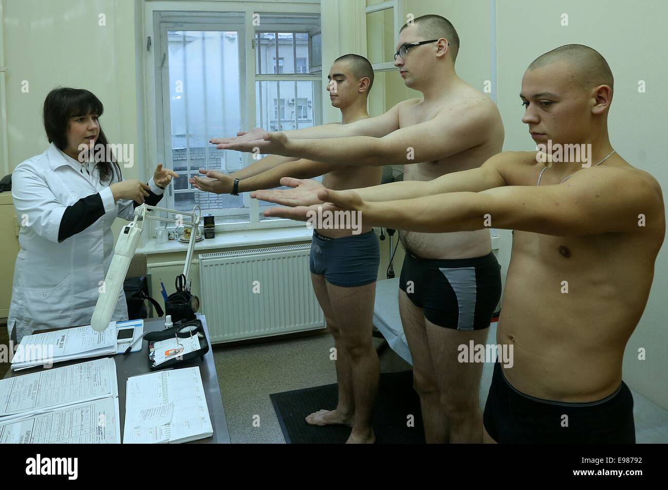 Chinese military medical inspection