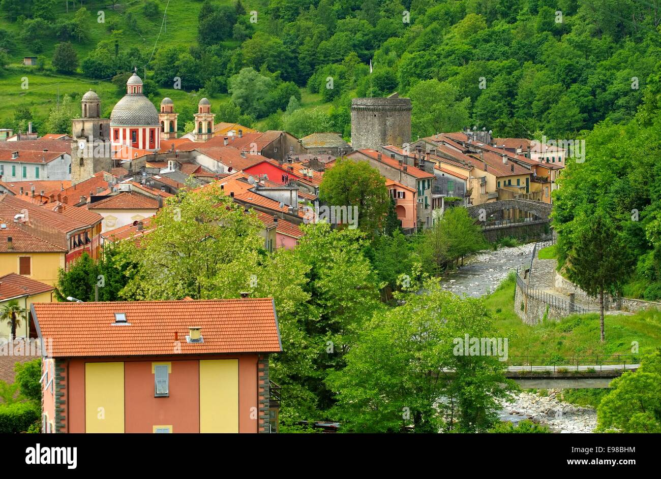 Varese Ligure 03 Stock Photo