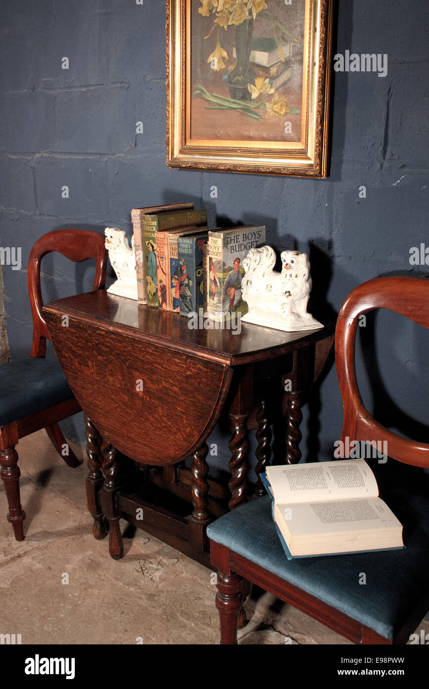 Miraculous Antique Recycle Georgian Victorian Table Barley Twist Ball Machost Co Dining Chair Design Ideas Machostcouk