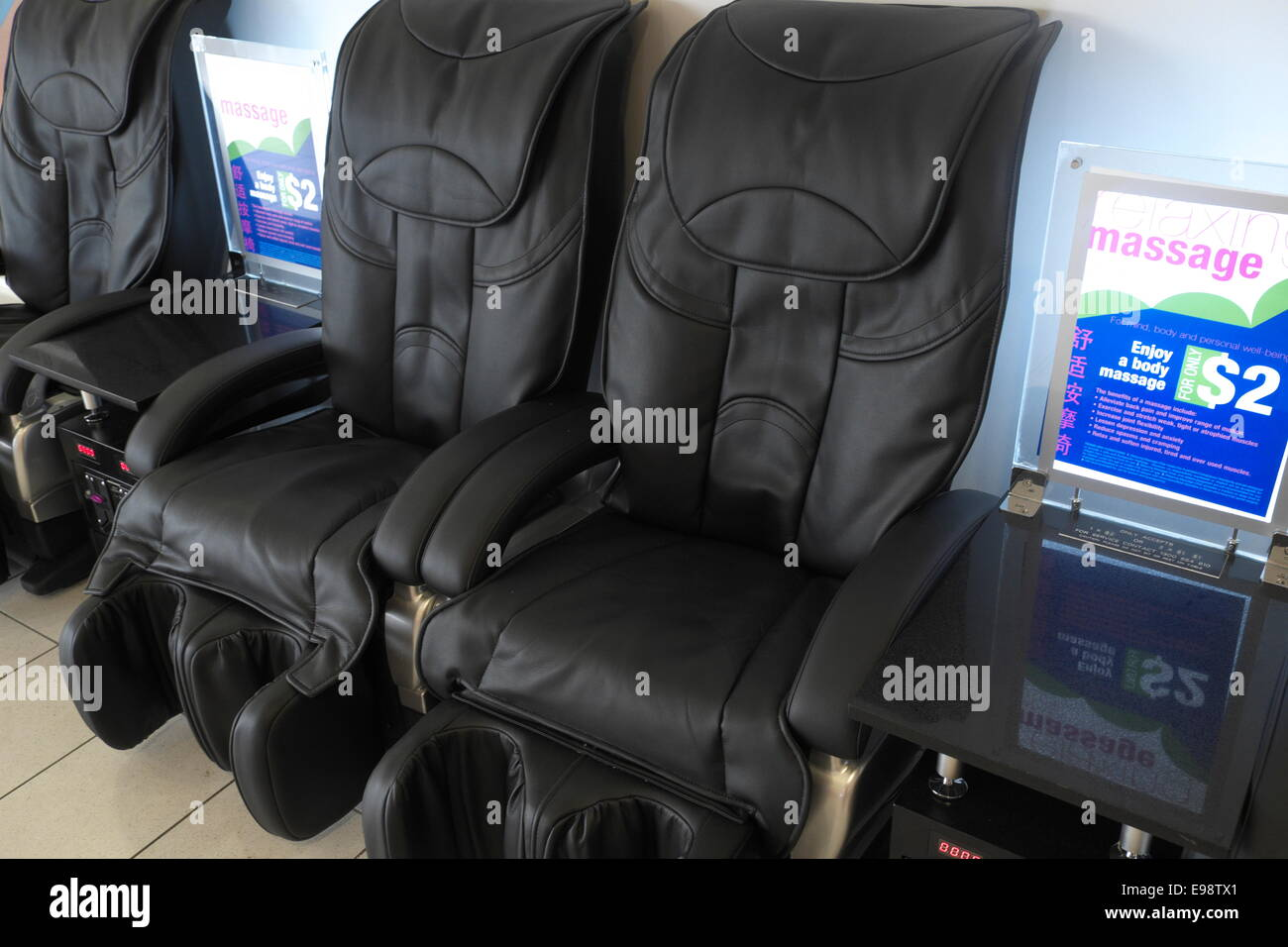 massage chairs stock photos massage chairs stock images alamy
