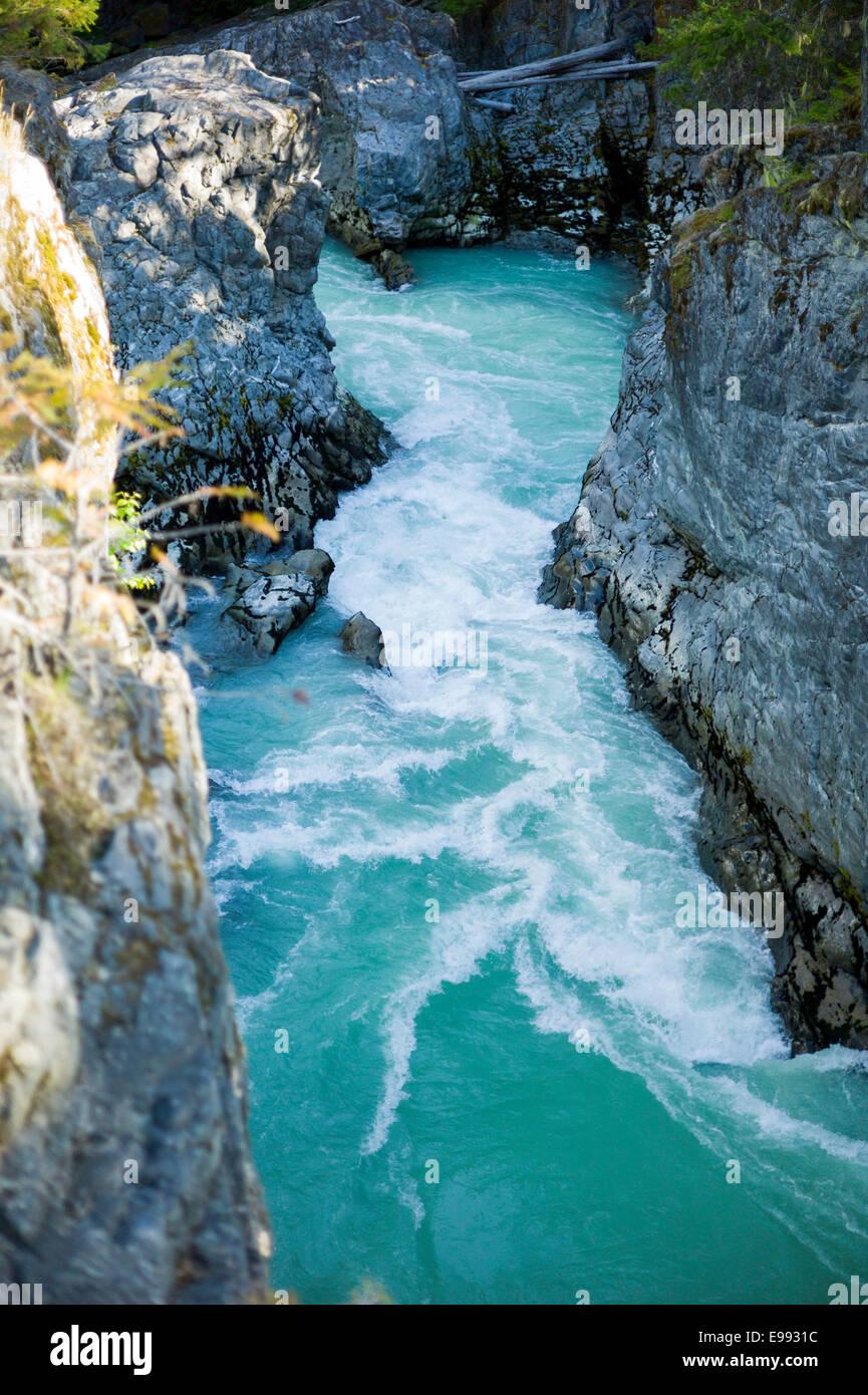 Nairn Falls Provincial Park, BC - Stock Image