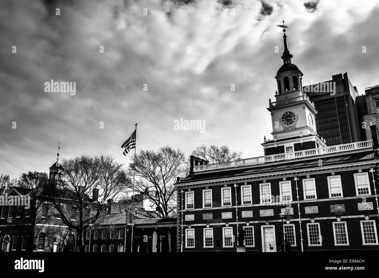 Independence Hall, in Philadelphia, Pennsylvania. - Stock Image